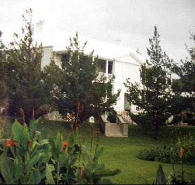 Government House through the trees