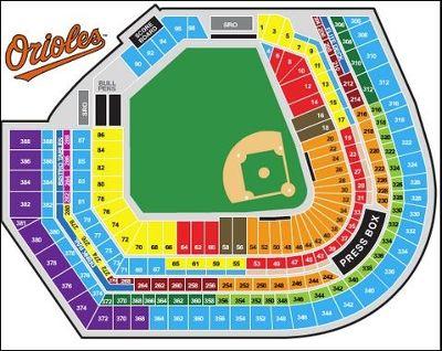 Seating chart - Baltimore