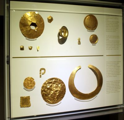 Gold in the Gold Museum