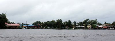 village from the river