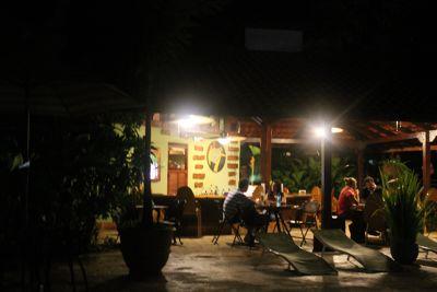 Mawamba bar after dark