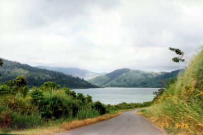 Lake Arenal from the road