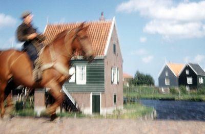 Marken horse and rider