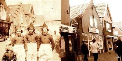 Then (1950) and Now (2016) - Volendam