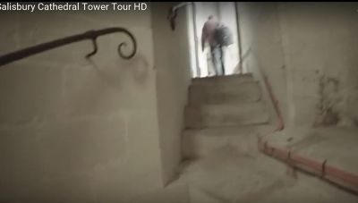 Towering Towers and Scary Stairs photos from the on-line tour video