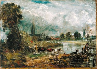 Constable paintings of Salisbury Cathedral