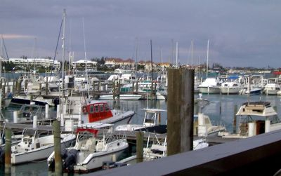 Nassau Harbour Club Hotel And Marina (photo taken the previous week)