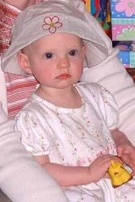 granddaughter wearing the hat I bought