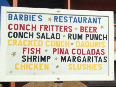 Barbie's Restaurant - Grand Turk