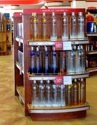 Liquor - 50% of - $51/bottle