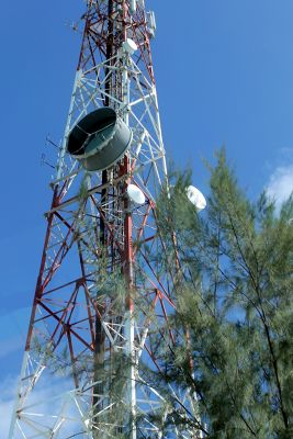 Cell tower - Grand Turk