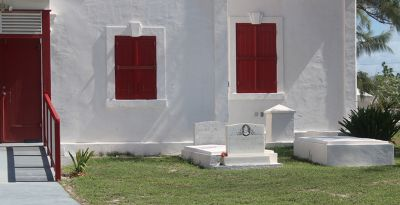 Part of the churchyard - Grand Turk