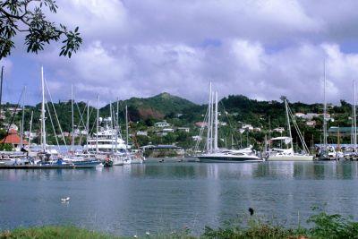 Port Louis Marina near St George's  Grenada