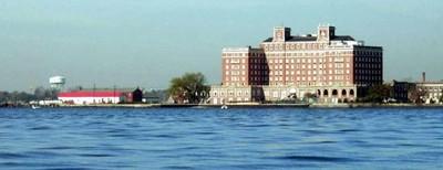 Passing the Chamberlain Hotel