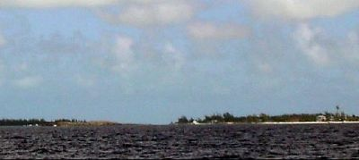 South of Chub Cay