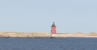 Lewes Breakwater Light from the Cape May Ferry