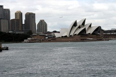 First view from the Manley ferry