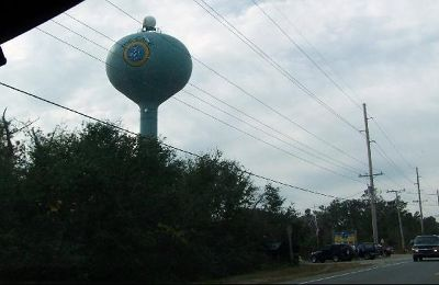 Water Tower from the car