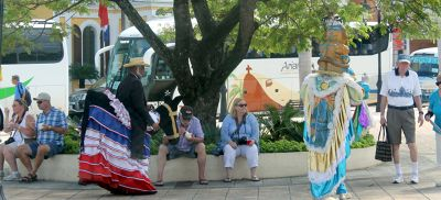 Characters for a photo op - Puerto Plata