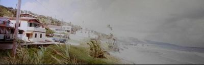Coast along in front of the town - Bathsheba