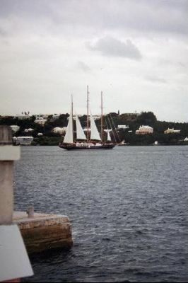 Sailboat from the Princess Hotel 1995