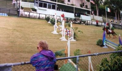 Show jumping ring