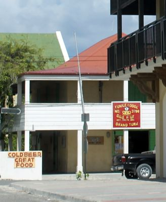 Sign in town - Good Food - Cold Beer - Grand Turk