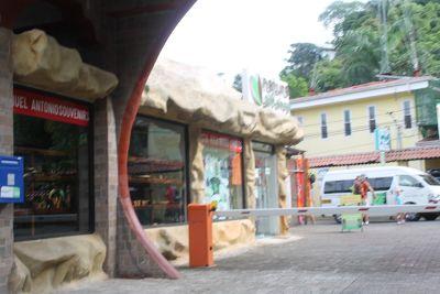 Shop next to hotel