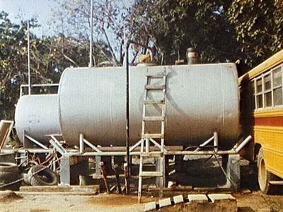 Above ground tanks