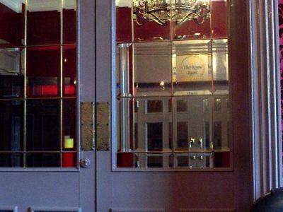 Fancy Restaurant entrance