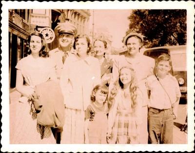 Speers family - June 23, 1950