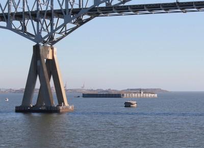 Key Bridge and Ft Carroll