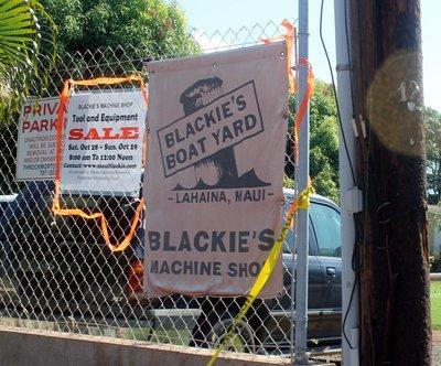Blackie's Boat Yard