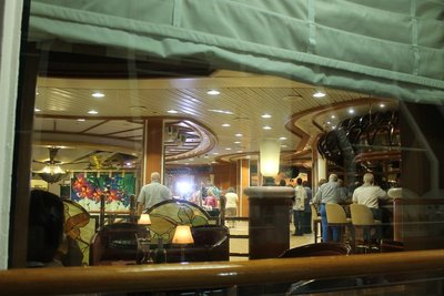 Atrium from the promenade deck