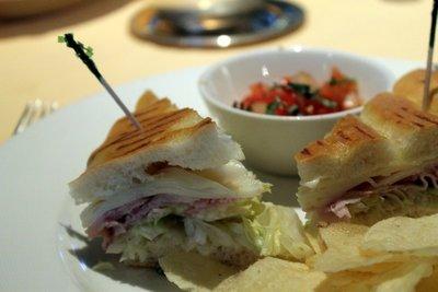 turkey sandwich - Lunch Nov 4