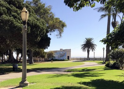 Park around San Fermin lighthouse