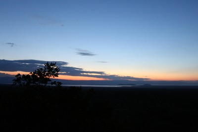 Sunset from Mawenga Camp