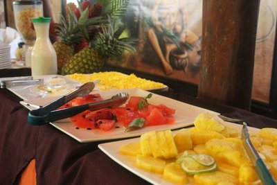 Fruit on the buffet