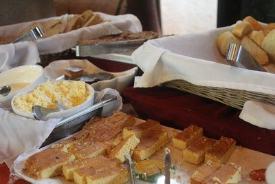Breads on the buffet