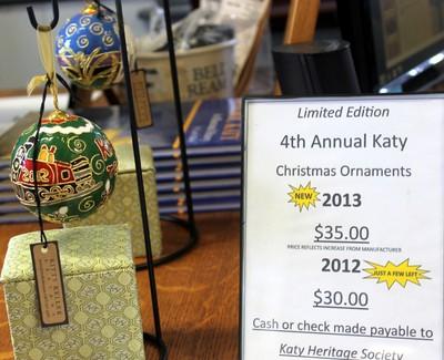 Katy Xmas ornaments