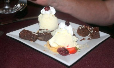 Bob's brownie and ice cream