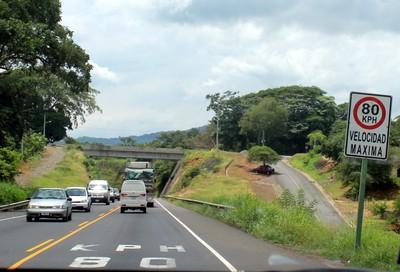 Maximum speed 80 kilometers/hour