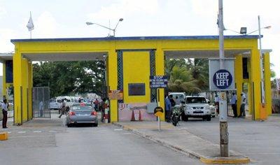 Port entrance/exit