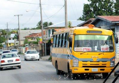 Route bus- Minibus