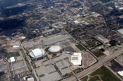 Reliant Stadium and Astrodome