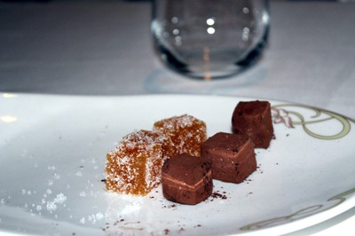 chef's extra - chocolate and apricot ganache