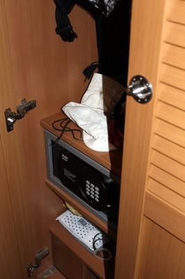 My closet with safe
