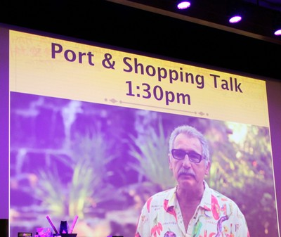 Port and shopping talk