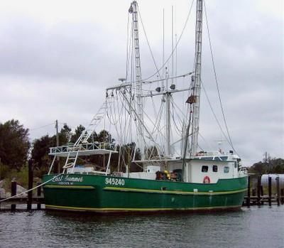 Shrimp boat LAST SUMMER