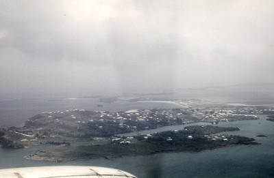 Bermuda from air